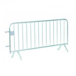 Barrière de police 14 barreaux 2 mètres