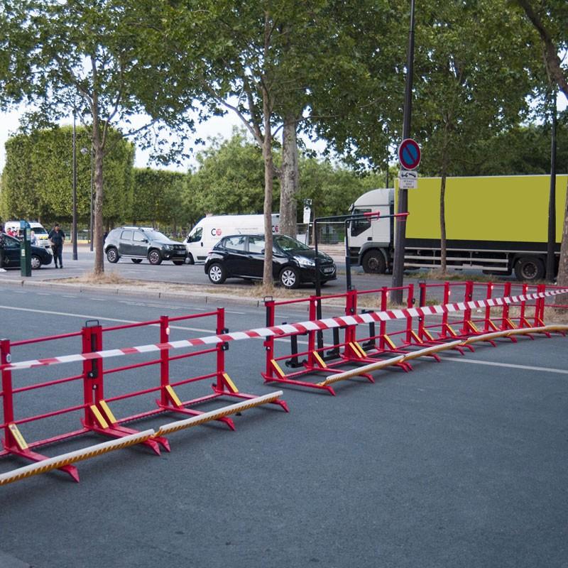 Barrière de protection anti voiture bélier